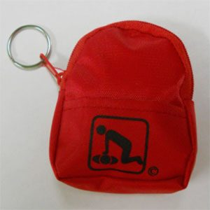 CPR Red Key Chain